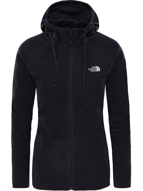 The North Face Mezzaluna Full Zip Hoodie Women TNF Black